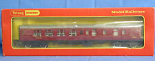 TRIANG OO GAUGE R?  LMS MAROON BRAKE FIRST COACH 5051 VGC