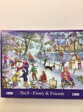 Hop 1000 piece jigsaw puzzle Frosty & Friends
