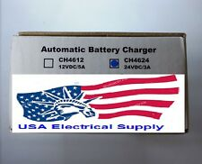 SS3524 Automatic  Battery Charger  Replaced For  CH4624 24V