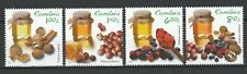 Romania 2013 Honey, Berries, Nuts 4 MNH stamps