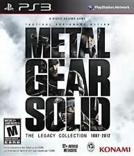 Metal Gear Solid The Legacy Collection PlayStation 3 Ps3