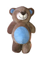 "Kellybaby Teddy Bear Stuffed Plush Rattle 20"" Soft Animal Blue Plush Toy"