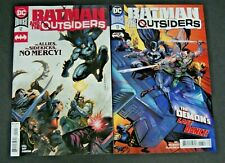 DC UNIVERSE BATMAN AND THE OUTSIDERS # 12 AND # 13 TWO BOOK LOT