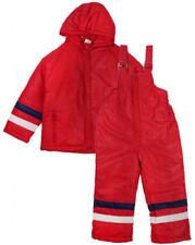 Vêtements rouges en polyester à 4 ans pour garçon de 2 à 16 ans
