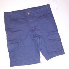 Route 66 Boys Cargo Shorts Size 5 Blue Gray