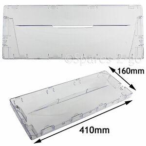 Plastic Drawer Panel Flap Front for Indesit CA55 CAA55 Fridge Freezer