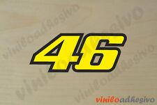 PEGATINA STICKER VINILO 46 Valentino Rossi V46 autocollant aufkleber adesivi