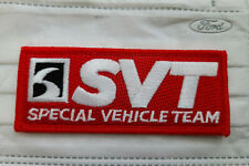 FORD SVT - SPECIAL VEHICLE TEAM PATCHES - ORIGINAL - MUSTANG SHELBY