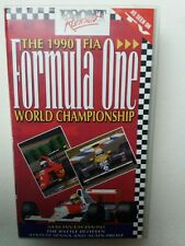 The 1990 FIA Formula One World Championship - video VHS - As new