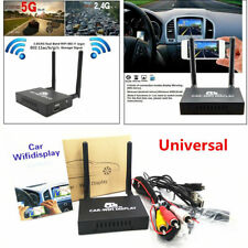 Car WiFi Display 2.4G+ 5G Wireless Airplay System Mirror Link Box HDMI USB (USA)