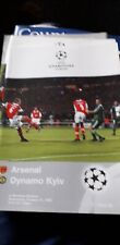 Arsenal V Dynamo Kiev Cl 1998 x10 copies