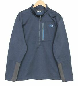 THE NORTH FACE CANYONLANDS 1/2 Zip Pullover Fleece Lined Jacket Men Size XXL
