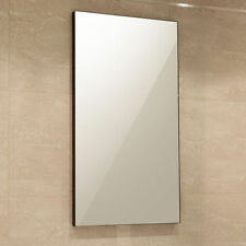 Modern Wooden Frame Bathroom Mirrors