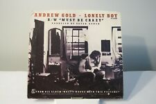 45 RECORD  ANDREW GOLD - LONELY BOY          PICTURE SLEEVE ONLY