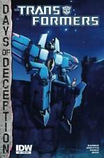 Transformers #37 Days Of Deception Subs. Var VF/NM