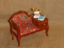 Reutter Telefonbank, schön bestückt,  Miniatur 1:12 Puppenhaus