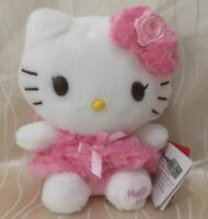 Rose Pink Hello Kitty 20cm Plush Toy Stuffed Anime Cartoon Doll Game Gift