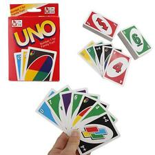 Family Fun One Pack of 108pcs UNO Card Game Playing Card For Travel Friends Hot