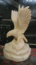 Chainsaw carved carving Eagle 2ft tall