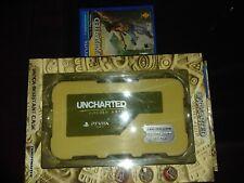 THRUSTMASTER Uncharted Vita Case Shock resistant + Golden Abyss game US psvita