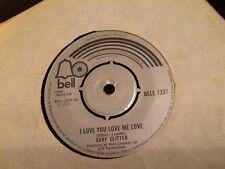 GARY GLITTER . I LOVE YOU LOVE ME LOVE . 1973 . GLAM ROCK