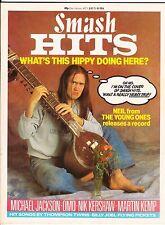 Smash Hits Magazine - 5-18 July 1984 - Young Ones Nigel Planer Neil - Pop Music