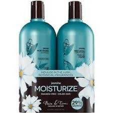 Bain De Terre Jasmine Moisturizing Shampoo + Conditioner 33 oz Liter Set
