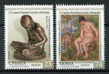 Serbia Stamps 2019 MNH National Museum Belgrade Art Nudes Sculpture 2v Set