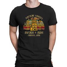 Hattori Hanzo Swords & Sushi Okinawa Japan Vintage Retro Men's T-Shirt Cool Gift