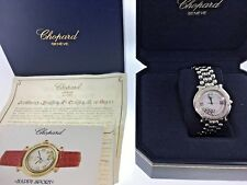 Chopard Happy Sport 7 Floating Diamonds Women's Watch 8236 With Box & Papers
