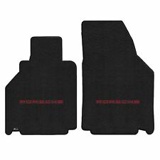 911 996 Carrera 2001-2005 2Pc Car Floor Mats Carpet Black Ultimat Porsche Logo