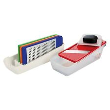 OXO Softworks Complete 7pc Grate & Slice Set Vegetable Cutter Kitchen Container