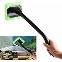 Car Window Brush Windshield Clean Fast Easy Shine Handy Auto Wiper Cleaner Home^