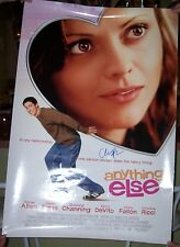 CRISTINA RICCI SIGNED MOVIE POSTER-ANYTHING ELSE  autographed by Cristina Ricci