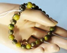 Unbehandelte Echte Edelstein-Armbänder mit Jade für Damen