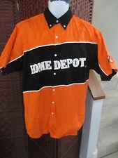 Mens Tony Stewart Home Depot Uniform Pit Crew Shirt Nascar Size Large