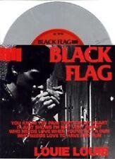 """Black Flag Louie Louie/Damaged 7"""" GREY VINYL Record non lp! henry rollins! punk!"""