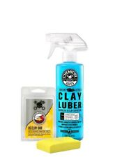 Chemical Guys Cly_113 OG Clay Bar & Luber Synthetic Lubricant Kit Yellow NEW