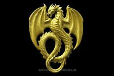3d Stl Models For Cnc Router Engraver Carving Artcam Aspire Dragon Animal 1727