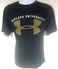 Under Armour Oakland University T-Shirt Black Size Large