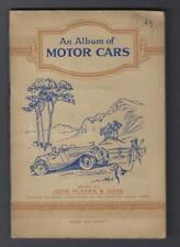 1936 John Player & Sons Motor Cars Tobacco Cards Near Set of 48/50 in the Album