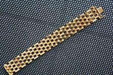 Armband 750/- Gelbgold, massiv, Kastenschloss beidseitige Sicherung, neuwertig!
