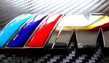 M POWER TECH SPORT REAR BOOT TRUNK ADHESIVE METAL BADGE STICKER EMBLEM LOGO BMW