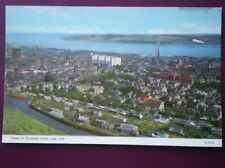 POSTCARD ANGUS VIEW OF DUNDEE FROM LAW HILL