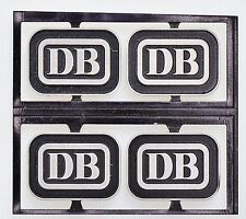 Dingler 4x Schild DB Emblem (1Z-160/02)