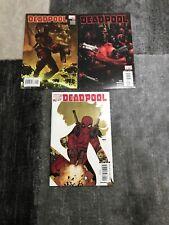 Marvel Comic Book Lot Deadpool #1 (2008) # 2 And Deadpool #900 NM
