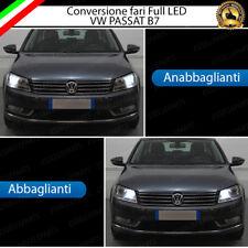 CONVERSIONE FARI FULL LED VW PASSAT B7 6000K XENON LED + PORTALAMPADE NO ERROR