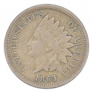 Civil War Era - 1863 Copper Nickel Indian Head Cent - Historic *650