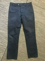 Unis New York Adult Mens 30 x 29 The Gio Chino Pants Blue
