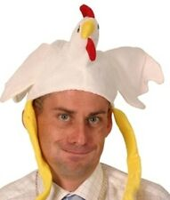 Chicken Novelty Hat with Body & Legs Fancy Dress Adult